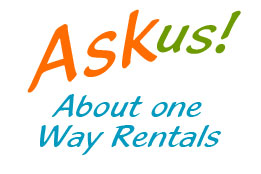 ask about one way rentals