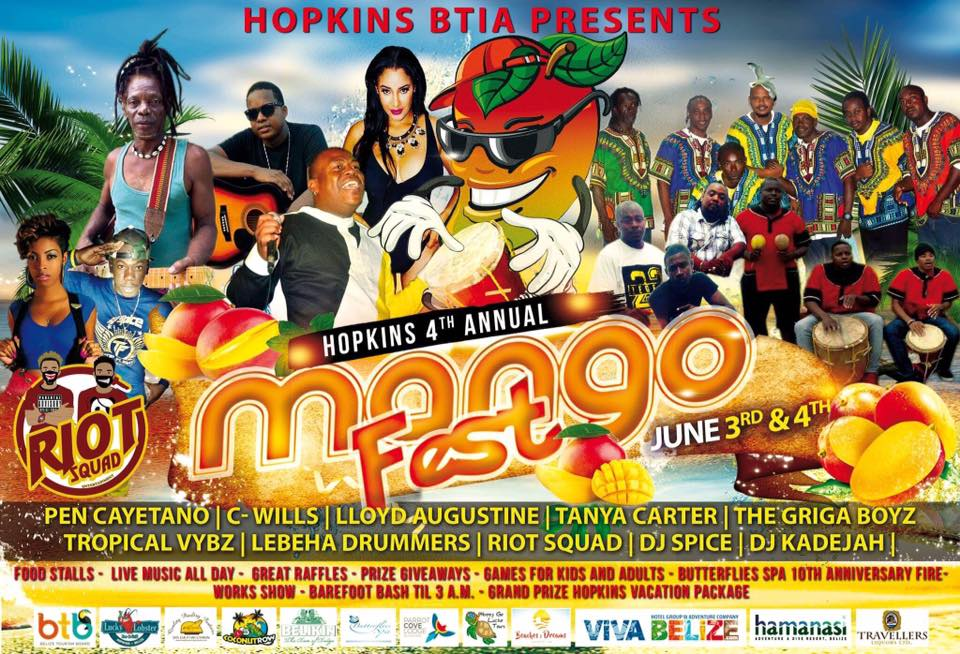 Don't Miss Mango Fest 2017 | Belize Festivals and Events