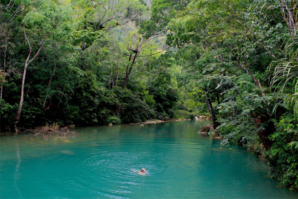 Places to Swim in Toledo Belize